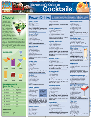 Bartender's Guide to Cocktails: Reference Guide - BarCharts, Inc.