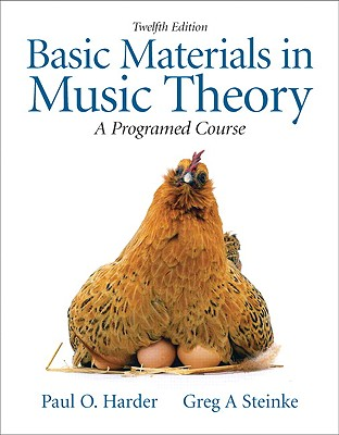 Basic Materials in Music Theory: A Programmed Approach - Harder, Paul O, Dr., and Steinke, Greg A