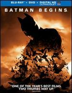 Batman Begins [2 Discs] [Includes Digital Copy] [UltraViolet] [Blu-ray]