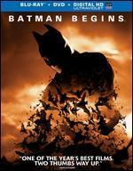 Batman Begins [2 Discs] [Includes Digital Copy] [UltraViolet] [Blu-ray]