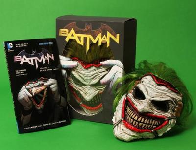 Batman: Death of the Family Book and Joker Mask Set - Capullo, Greg (Artist), and Snyder, Scott