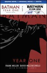 Batman: Year One [Includes Batman: Year One Graphic Novel] [Blu-ray]