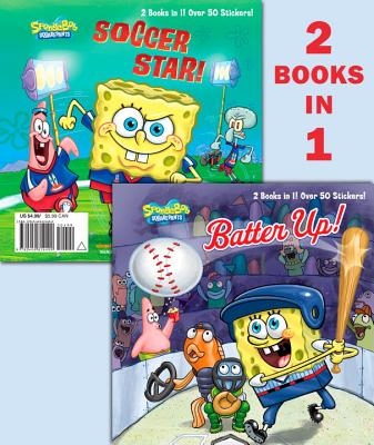 Batter Up!/Soccer Star! (Spongebob Squarepants) - Random House (Illustrator)