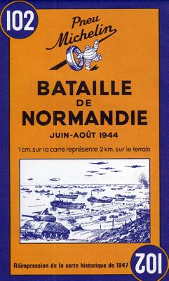 Battle of Normandy Michelin Map #102 - Michelin Travel Publications