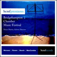 BCMF Premieres: Bridgehampton Chamber Music Festival - Anthony McGill (clarinet); Beth Guterman (viola); Edward Arron (cello); Fred Sherry (cello); Jesse Mills (violin);...