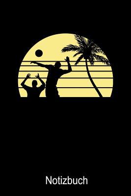 Beachvolleyball Notizbuch: Notizbuch A5 kariert 120 Seiten, Notizheft / Tagebuch / Reise Journal, perfektes Geschenk f?r Volleyballspieler - Notizbucher, Volleyball