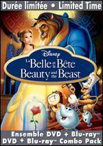 Beauty and the Beast [Diamond Edition] [3 Discs] [DVD/Blu-ray]