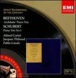 Beethoven: 'Archduke' Piano Trio; Schubert: Piano Trio No. 1