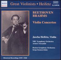 Beethoven, Brahms: Violin Concertos - Jascha Heifetz (violin)