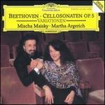 Beethoven: Cellosonaten, Op. 5; Variations