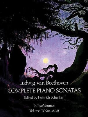 Beethoven: Complete Piano Sonatas - Volume II (Dover Edition) - Beethoven, Ludwig Van