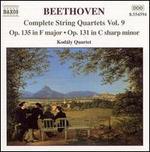 Beethoven: Complete String Quartets, Vol. 9