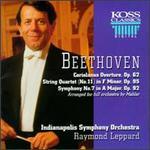 Beethoven: Coriolanus Overture; String Quartet No.11; Symphony No. 7