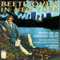 Beethoven in New York - Ani Kavafian (violin); Chamber Music Society of Lincoln Center (chamber ensemble); David Shifrin (clarinet);...