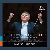 Beethoven: Messe C-Dur; Leonoren-Ouvertüre Nr. 3 - Genia Kühmeier (soprano); Gerhild Romberger (alto); Luca Pisaroni (bass baritone); Maximilian Schmitt (tenor);...