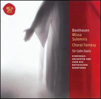 Beethoven: Missa Solemnis; Choral Fantasy - Andreas Röhn (violin); Anton Rosner (tenor); Elmar Schloter (organ); Gerhard Oppitz (piano); Heinrich Weber (tenor);...