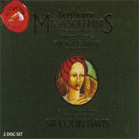 Beethoven: Missa Solemnis; Chorfantasie - Andreas Röhn (violin); Anton Rosner (tenor); Elmar Schloter (organ); Gerhard Oppitz (piano); Heinrich Weber (tenor);...