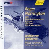 Beethoven: Missa solemnis - Alastair Miles (bass); Amanda Halgrimson (soprano); Cornelia Kallisch (alto); Hans Kalafusz (violin); John Aler (tenor);...
