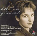 Beethoven: Piano Concerto No. 4; Piano Sonatas Opp. 109 & 110