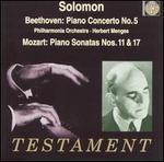 Beethoven: Piano Concerto No. 5; Mozart: Piano Sonatas Nos. 11 & 17