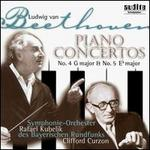 Beethoven: Piano Concertos No. 4 in G major & No. 5 E flat major