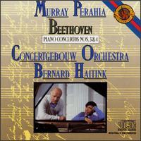 Beethoven: Piano Concertos Nos. 3 & 4 - Murray Perahia (piano); Royal Concertgebouw Orchestra