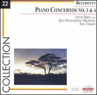 Beethoven: Piano Concertos Nos. 3 & 4 - Anton Dikov (piano); Sofia Philharmonic Orchestra; Emil Tabakov (conductor)