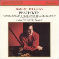 "Beethoven: Piano Sonata in B flat, Op. 106 ""Hammerklavier""; Andante Favori, WoO 57 - Barry Douglas (piano)"