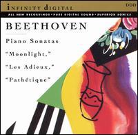 """Beethoven: Piano Sonatas """"Moonlight,"""" """"Les Adieux,"""" """"Pathétique"""" - Nodar Gabuniya (piano)"""