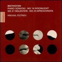 Beethoven: Piano Sonatas, Nos. 14, 21 & 23 - Mikhail Pletnev (piano)