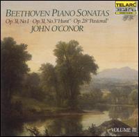 Beethoven: Piano Sonatas, Vol. 3 - John O'Conor (piano)