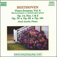 Beethoven: Piano Sonatas, Vol. 6 - Jenö Jandó (piano)