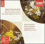 Beethoven: Piano Trios & Cello Sonatas - Daniel Barenboim (piano); Jacqueline du Pré (cello); Pinchas Zukerman (violin); Stephen Kovacevich (piano)
