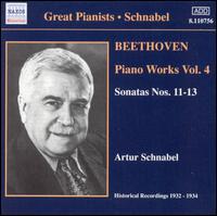 Beethoven: Piano Works, Vol. 4 - Artur Schnabel (piano)