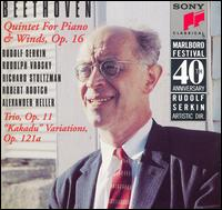 "Beethoven: Quintet for Piano & Winds, Op. 16; Trio Op. 11; ""Kakadu"" Variations, Op. 121a - Alain Meunier (cello); Alexander Heller (bassoon); Peter Wiley (cello); Richard Stoltzman (clarinet); Robert Routch (horn);..."