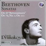 "Beethoven: Sonatas Opp. 57 ""Appassionata"", 14/1, 111"