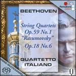 """Beethoven: String Quartets, Op. 59 No. 1 """"Rasumovsky""""; Op. 18 No. 6"""
