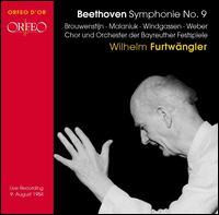 Beethoven: Symphonie No. 9 - Gré Brouwenstijn (soprano); Ira Malaniuk (alto); Ludwig Weber (bass); Wolfgang Windgassen (tenor);...