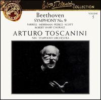 "Beethoven: Symphony No. 9 ""Choral"" - Eileen Farrell (soprano); Jan Peerce (tenor); Nan Merriman (mezzo-soprano); Norman Scott (bass);..."