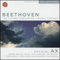 Beethoven: The 5 Piano Concertos; Choral Fantasy - Emanuel Ax (piano); New York Choral Artists (choir, chorus)
