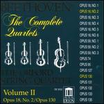Beethoven: The Complete Quartets, Vol. II