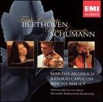 Beethoven: Triple Concerto; Schumann: Piano Concerto