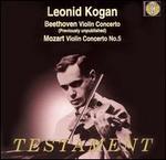 Beethoven: Violin Concerto; Mozart: Violin Concerto No. 5