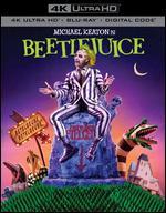 Beetlejuice [Includes Digital Copy] [4K Ultra HD Blu-ray/Blu-ray] - Tim Burton