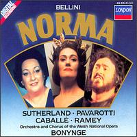 Bellini: Norma - Diana Montague (vocals); Joan Sutherland (soprano); Kim Begley (vocals); Luciano Pavarotti (tenor);...