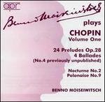 Benno Moiseiwitsch plays Chopin, Vol. 1