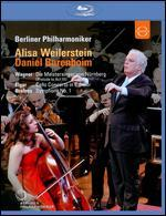 Berliner Philharmoniker/Alisa Weilerstein/Daniel Barenboim: Wagner/Elgar/Brahms [Blu-ray]
