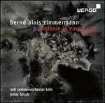 Bernd Alois Zimmermann: Sinfonie in einem satz (1. Fassung)