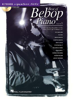Best of Bebop Piano: Keyboard Signature Licks - Rizzo, Gene