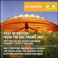Best of British from the BBC Proms 2007 - Christian Poltéra (cello); Daniel Hope (violin); Leila Josefowicz (violin); Paul Watkins (cello); Philip Dukes (viola);...